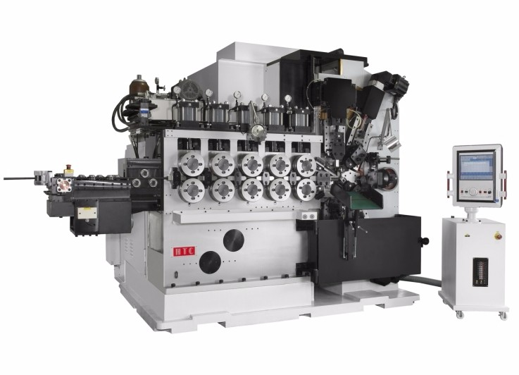 8 Axes Spring Coiling Machine Cq Series Hsi